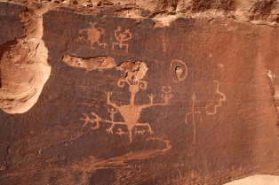 Rock art, western Grand Canyon.