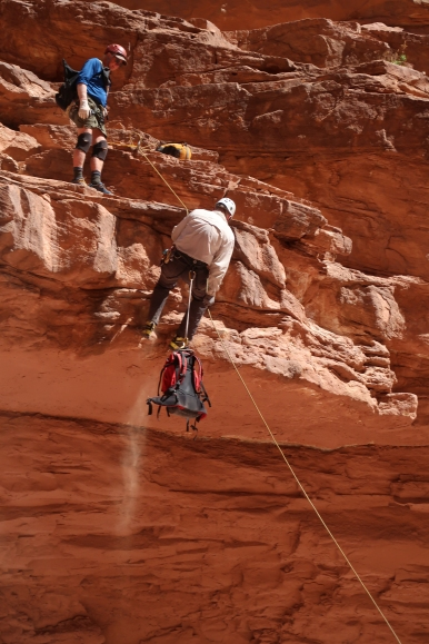 Sometimes, the waterholes at Grand Canyon are dry, and you need a plan b.